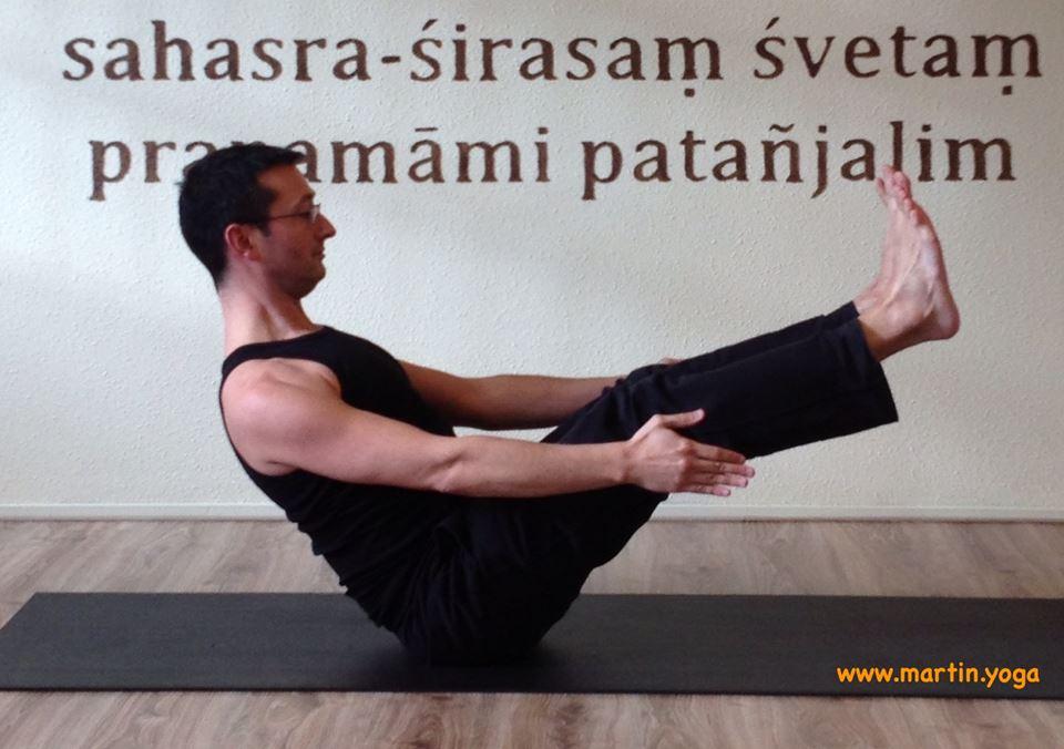 Power yoga with Martin